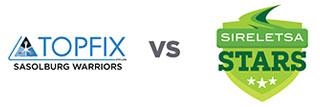 Game 2: Topfix Sasolburg Warriors vs Sireletsa Stars